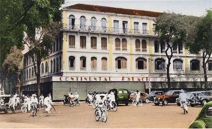 Hotel continental de Saigon de antano