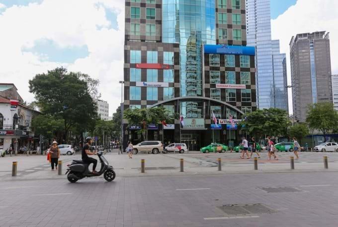 Sitio de la antigua iglesia de Saigon