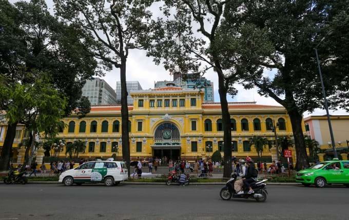 Oficina central de correos de Ho Chi Minh