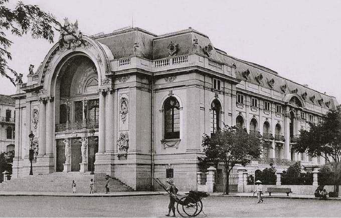 La antigua opera de Saigon