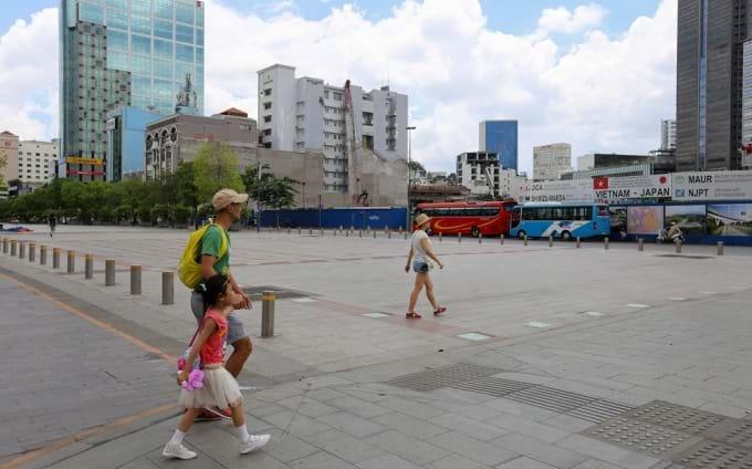 Sitio de la primera rotonda en Saigon