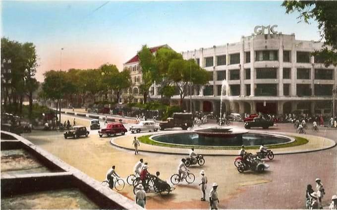 La primera rotonda de Saigon