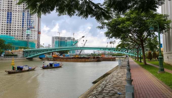 Puente Mong en Ho Chi Minh