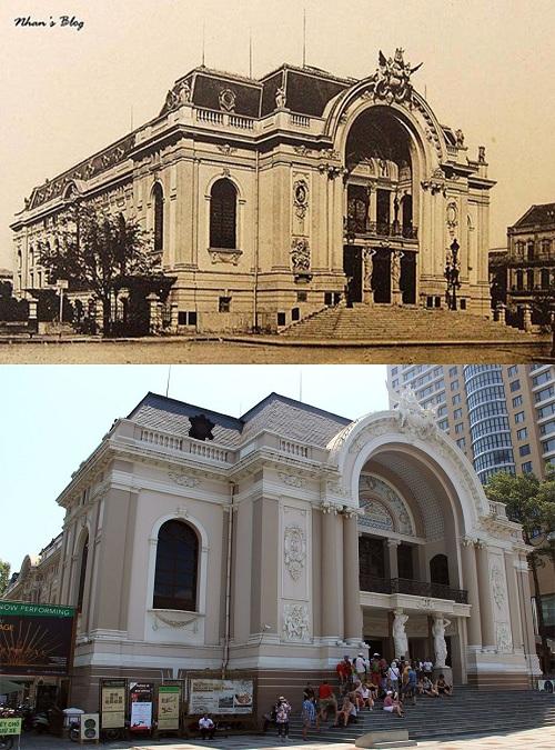 Opera de Saigon pasado y presente