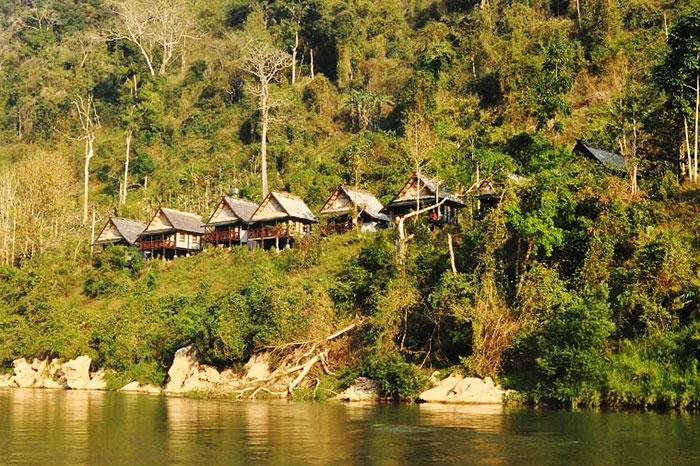 Orillas del rio Nam Ou Laos