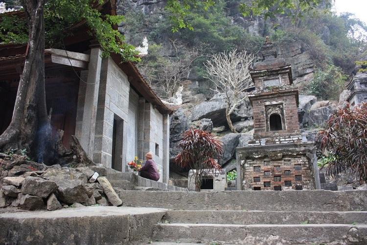 Pagoda superior en Bich Dong Ninh Binh