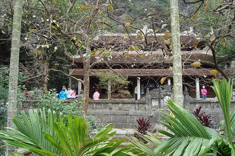Pagoda Ha o pogoda inferior en Ninh Binh