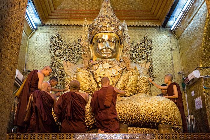 Pagoda Mahamuni en Mandalay Myanmar