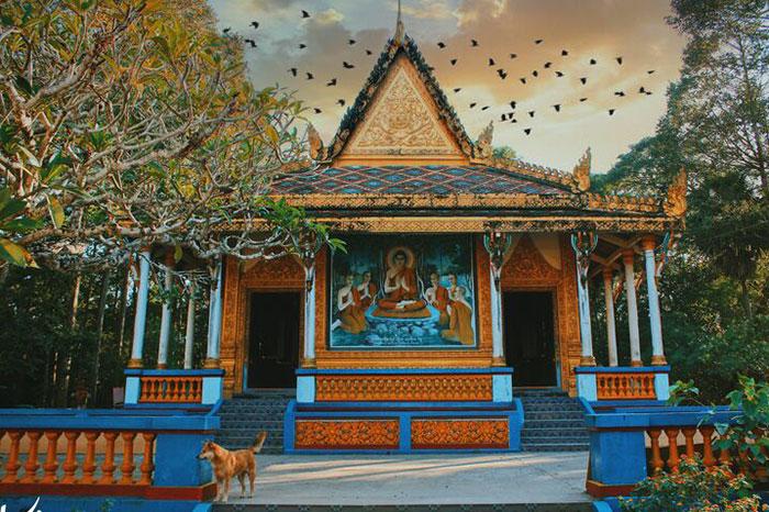 Pagoda Bat en Soc Trang