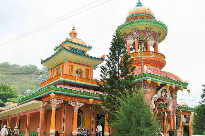 pagoda Tay An en Chau Doc