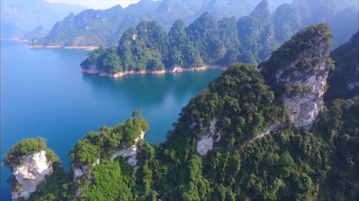 Paisaje Lam Binh norte de Vietnam