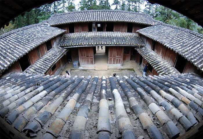 El palacio de la familia Vuong en Ha Giang Vietnam