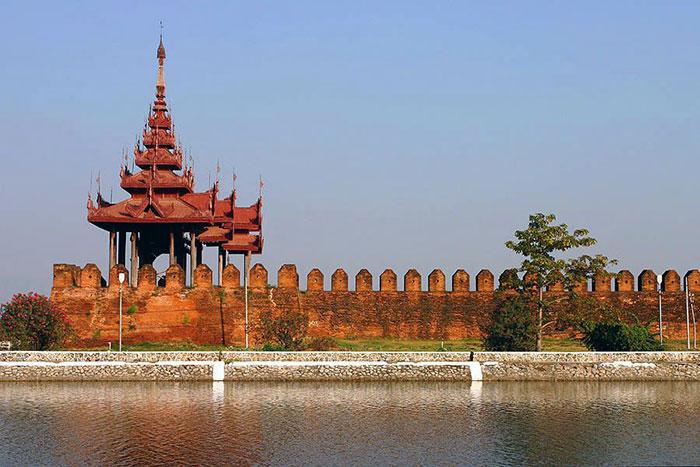 Palacion Real en Mandalay Myanmar
