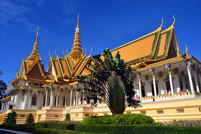 El Palacio real de Nom Pen