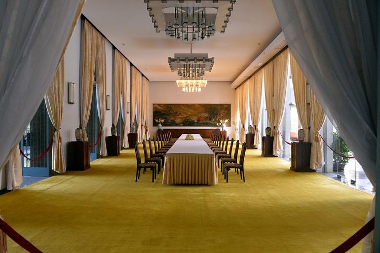 Sala de banquetes del palacio de la Reunificacion