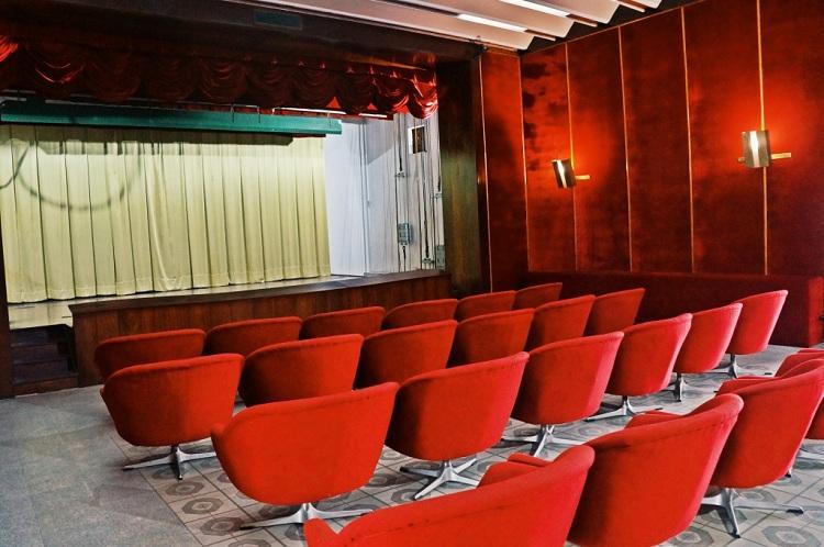 Sala de cine en el palacio de la reunificación