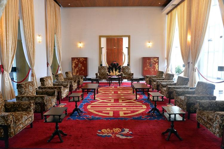 Sala de recepción del palacio de la Reunificacion