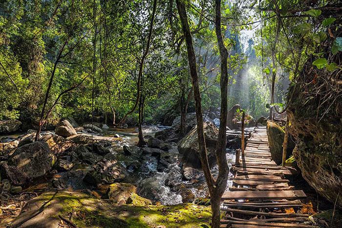 Parque Nacional Botum Sakor en Camboya