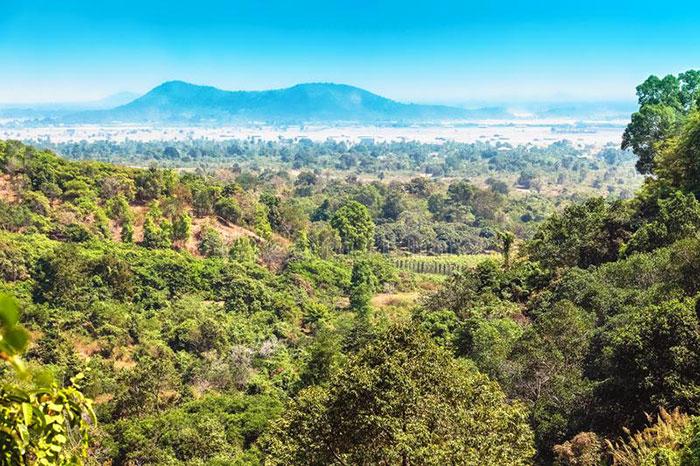 Parque Nacional Kep en Camboya