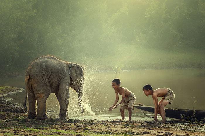 Parque Nacional Nam Xam en Laos