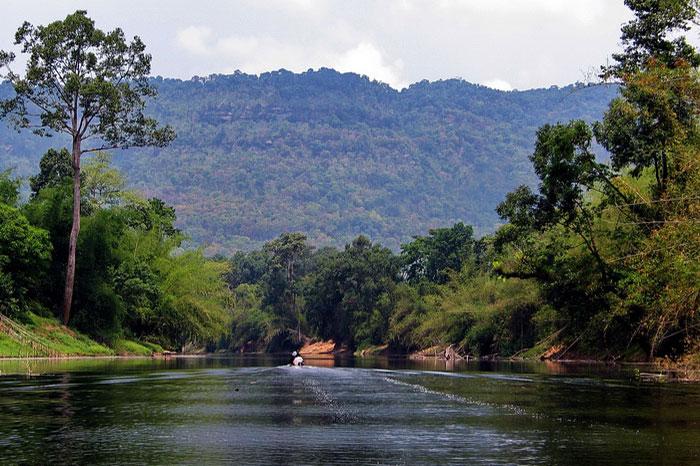 Parque Nacional Xe Pian en Laos