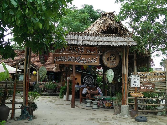 D arts zone en el Quang Binh