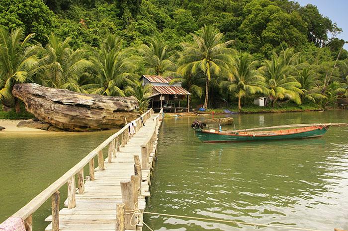 Parque Nacional Ream en Camboya