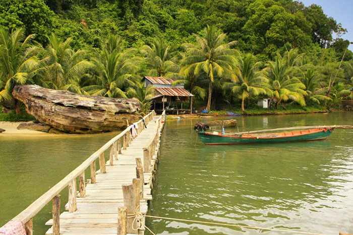 Parque naciona Ream en Sihanoukville