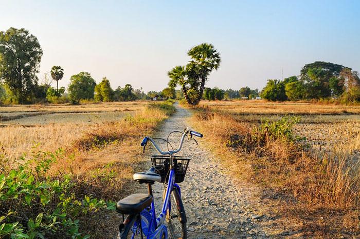 Paseo en bicicleta en las 4000 islas