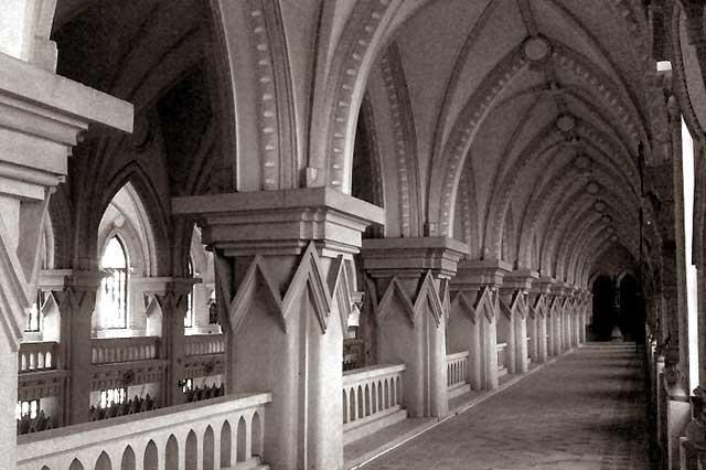 Arquitectura del monasterio de Chau Son en Ninh Binh