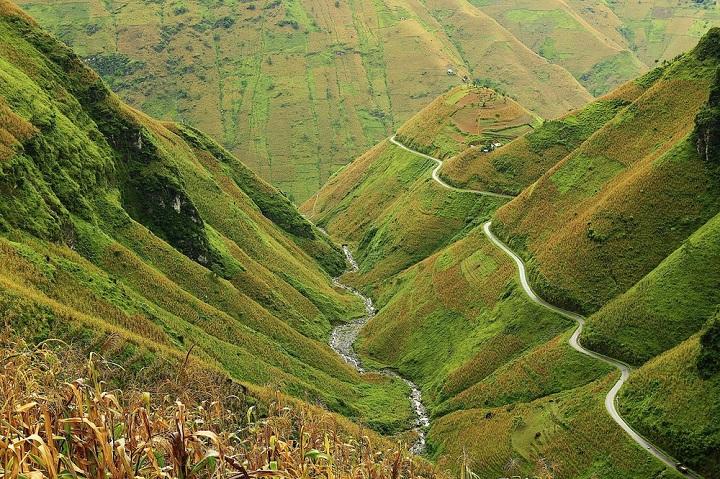 El paso Ma Pi Leng en Ha Giang