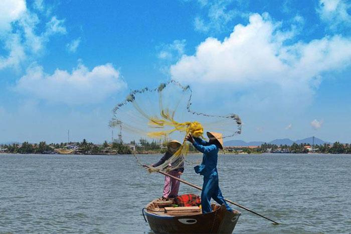 Pueblo de pescadores de Cam Thanh en Hoi An