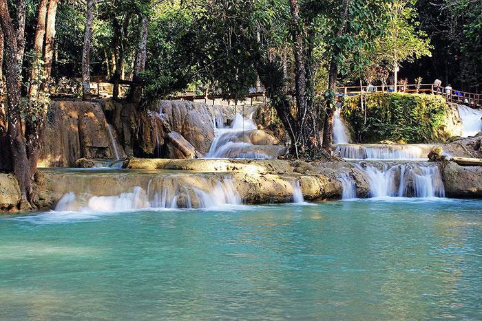 Las cascadas de Tad Sae en Luang Prabang