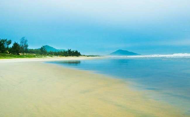 Playa de Lang Co en Vietnam