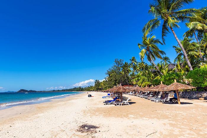 Playa Ngapali en Myanmar