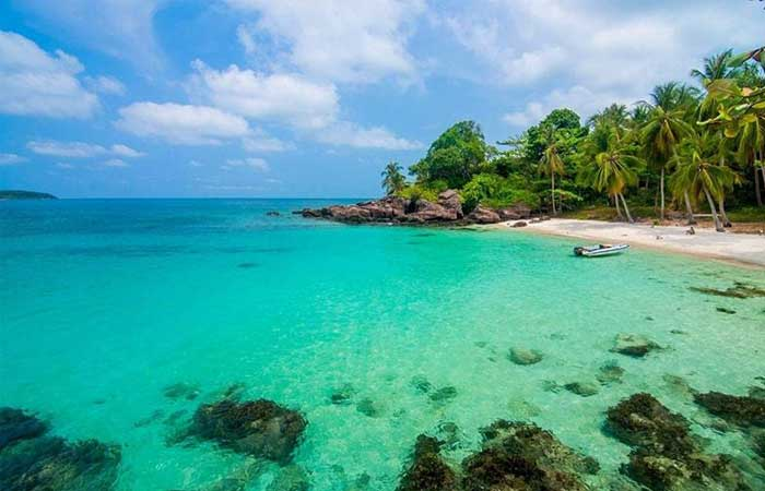 Playa de Mong Tay en Phu Quoc Vietnam