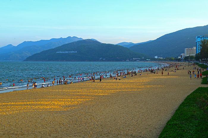 Playa de Quy Nhon Vietnam
