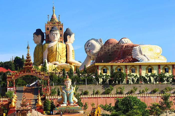 Complejo Ko Yi Lay en Myanmar