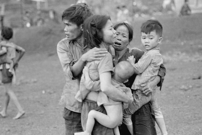 Pobladores en la masacre de My Lai Vietnam