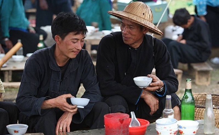 Pobladores de las montanas de Ha Giang