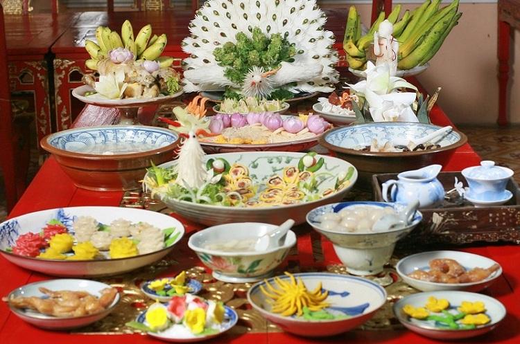 Banquete de comida real de Hue