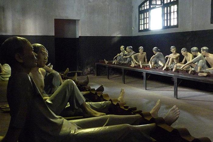 Museo en la prision de Hoa Lo en Hanoi