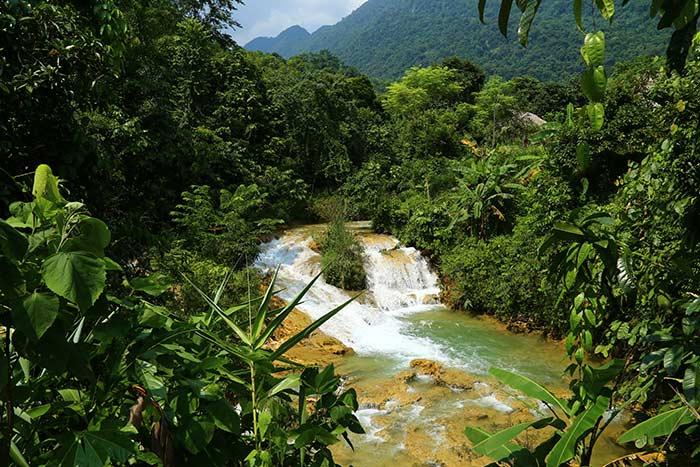 Cascada Ban Hieu en Pu Luong Vietnam