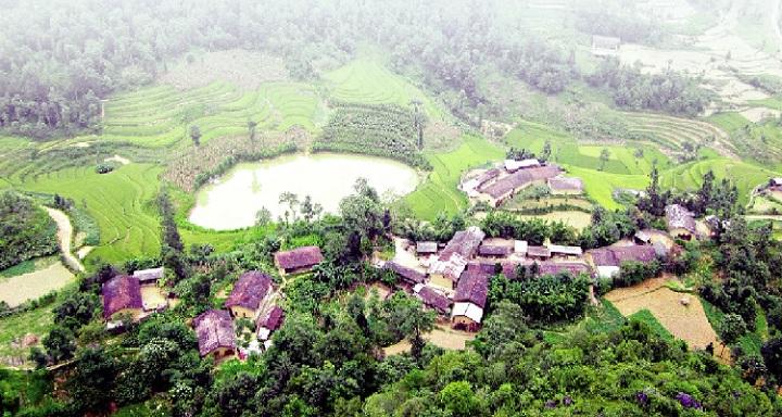 Pueblo de Dong Van en Ha Giang Vietnam