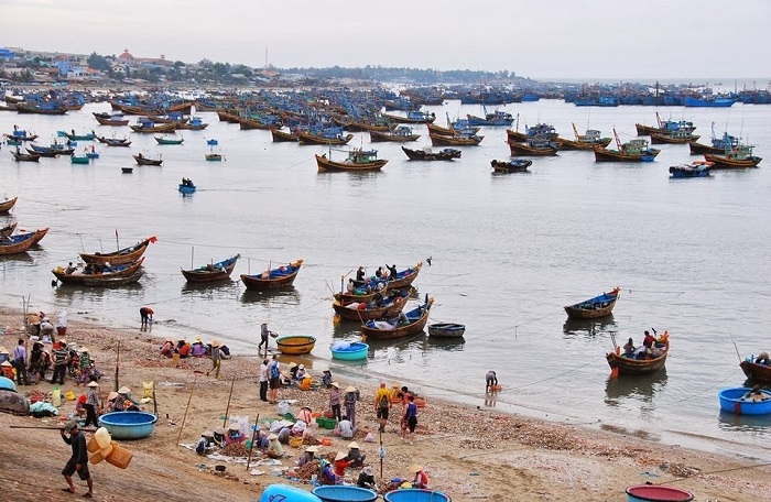 El pueblo de pescadores de Mui Ne