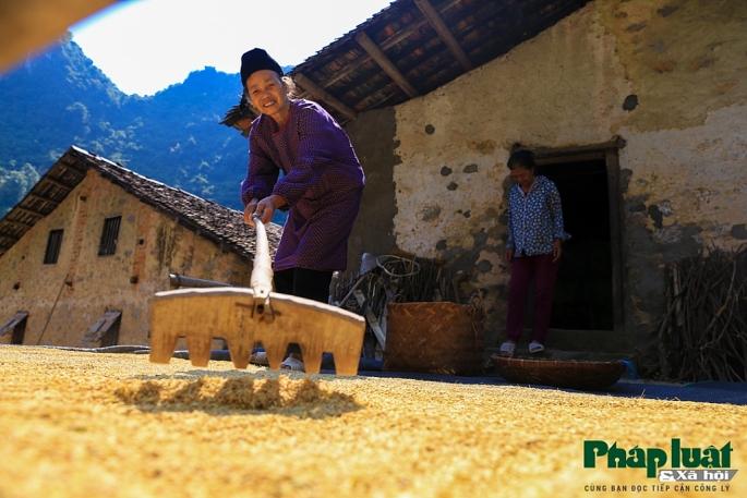 Poblador del pueblo Khuoi Ky en Cao Bang