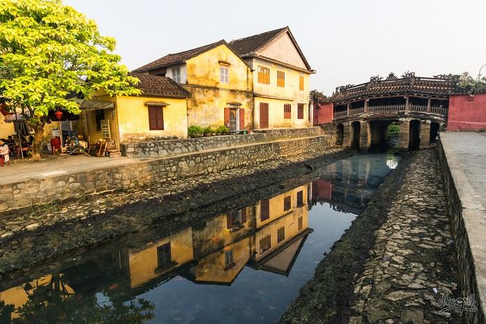 Puente japone en Hoi An
