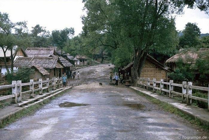 Entrada a un pequeño pueblo de Sapa