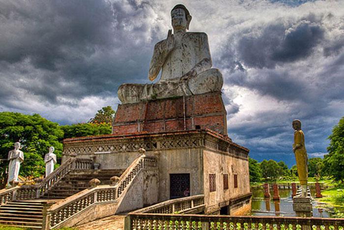 El templo de Wat Aek Phnom