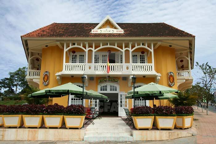 Casa colonial en Dalat Vietnam